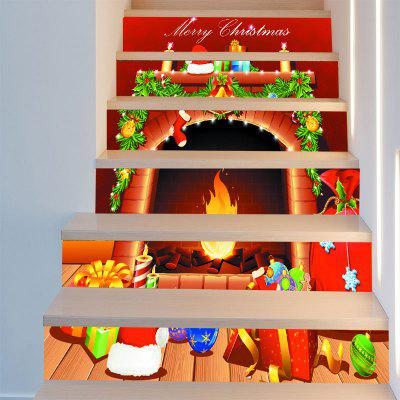 Christmas Fireplace Pattern Stair StickersWall Stickers<br>Christmas Fireplace Pattern Stair Stickers<br><br>Feature: Removable<br>Functions: Stair Stickers<br>Material: PVC<br>Package Contents: 6 x Stair Stickers (Pcs)<br>Pattern Type: Print<br>Theme: Christmas<br>Wall Sticker Type: 3D Wall Stickers<br>Weight: 0.3100kg