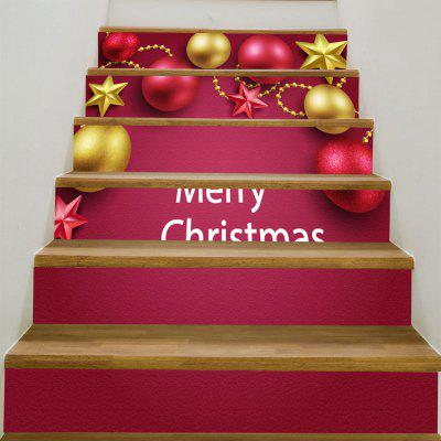 Buy Christmas Decorations Balls Pattern Stair Stickers, TUTTI FRUTTI, Home & Garden, Home Decors, Wall Art, Wall Stickers for $17.76 in GearBest store