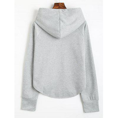Uneven Hem Drawstring Loose HoodieSweatshirts &amp; Hoodies<br>Uneven Hem Drawstring Loose Hoodie<br><br>Clothing Style: Hoodie<br>Material: Cotton, Polyester<br>Package Contents: 1 x Hoodie<br>Pattern Style: Solid<br>Shirt Length: Regular<br>Sleeve Length: Full<br>Weight: 0.5300kg
