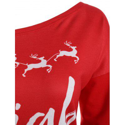 Christmas Sleigh All Day Plus Size Elk SweatshirtPlus Size Tops<br>Christmas Sleigh All Day Plus Size Elk Sweatshirt<br><br>Material: Polyester, Spandex<br>Package Contents: 1 x Sweatshirt<br>Pattern Style: Letter<br>Season: Fall, Spring<br>Shirt Length: Regular<br>Sleeve Length: Full<br>Style: Fashion<br>Weight: 0.3700kg