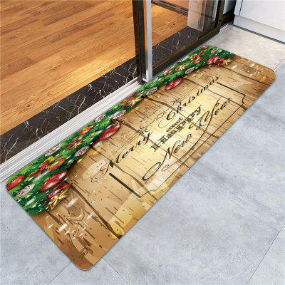 Merry Christmas Wood Printed Skidproof RugCarpets &amp; Rugs<br>Merry Christmas Wood Printed Skidproof Rug<br><br>Materials: Coral FLeece<br>Package Contents: 1 x Rug<br>Pattern: Wood Grain<br>Products Type: Bath rugs<br>Shape: Rectangle<br>Style: Festival