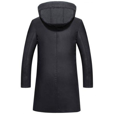 Zip Up Sleeve Pocket Long Hooded CoatMens Jackets &amp; Coats<br>Zip Up Sleeve Pocket Long Hooded Coat<br><br>Clothes Type: Padded<br>Collar: Hooded<br>Material: Polyester<br>Package Contents: 1 x Coat<br>Season: Winter<br>Shirt Length: Long<br>Sleeve Length: Long Sleeves<br>Style: Casual<br>Weight: 1.2900kg