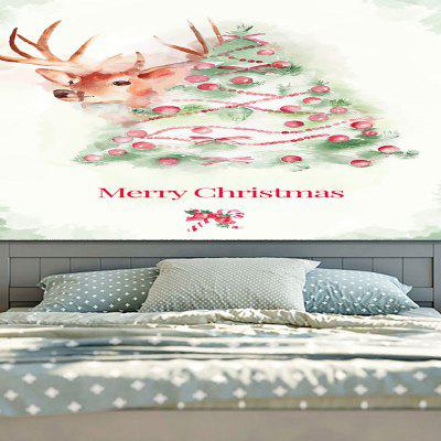 Christmas Watercolor Deer Print Wall Decor TapestryTapestries<br>Christmas Watercolor Deer Print Wall Decor Tapestry<br><br>Feature: Removable, Washable<br>Material: Cotton, Polyester<br>Package Contents: 1 x Tapestry<br>Shape/Pattern: Animal<br>Style: Festival<br>Theme: Christmas<br>Weight: 0.3100kg