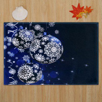 Christmas Snowflake Balls Print Skidproof Coral Fleece Bath MatCarpets &amp; Rugs<br>Christmas Snowflake Balls Print Skidproof Coral Fleece Bath Mat<br><br>Materials: Coral FLeece<br>Package Contents: 1 x Rug<br>Pattern: Ball,Snowflake<br>Products Type: Bath rugs<br>Shape: Rectangular<br>Style: Festival