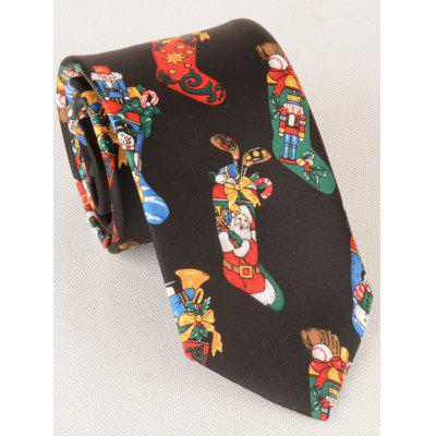 Christmas Socks Pattern Novelty Christmas NecktieTies &amp; Cufflinks<br>Christmas Socks Pattern Novelty Christmas Necktie<br><br>Group: Adult<br>Length(CM): 145CM<br>Material: Polyester<br>Package Contents: 1 x Necktie<br>Pattern Type: Others<br>Style: Fashion<br>Tie Type: Neck Tie<br>Type: Neck Tie<br>Weight: 0.1100kg<br>Width(CM): 8.5CM