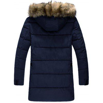 Detachable Faux Fur Hood Padded CoatMens Jackets &amp; Coats<br>Detachable Faux Fur Hood Padded Coat<br><br>Clothes Type: Padded<br>Collar: Hooded<br>Material: Polyester<br>Package Contents: 1 x Coat<br>Season: Winter<br>Shirt Length: Long<br>Sleeve Length: Long Sleeves<br>Style: Casual<br>Weight: 1.3500kg