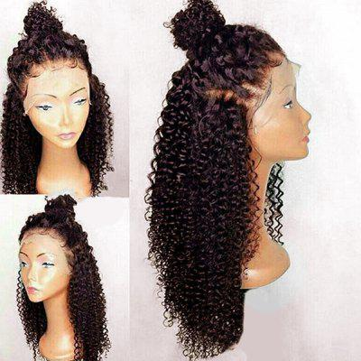 Free Part Long Curly Synthetic Lace Front Wig