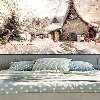 Wall Decor Christmas Snowscape Pattern TapestryTapestries<br>Wall Decor Christmas Snowscape Pattern Tapestry<br><br>Feature: Removable, Washable<br>Material: Cotton, Polyester<br>Package Contents: 1 x Tapestry<br>Shape/Pattern: Buildings,Tree<br>Style: Festival<br>Theme: Christmas<br>Weight: 0.3100kg