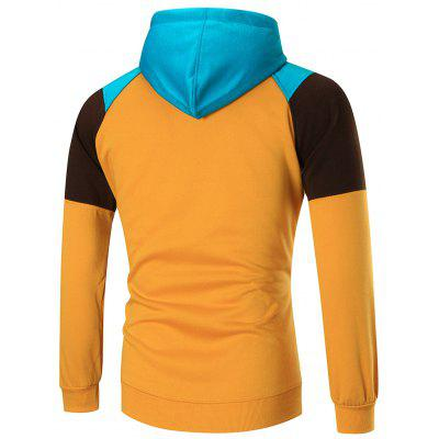 Casual Colorblocked Zip Up HoodieMens Hoodies &amp; Sweatshirts<br>Casual Colorblocked Zip Up Hoodie<br><br>Clothes Type: Hoodie<br>Material: Cotton, Polyester<br>Occasion: Sports, Going Out, Daily Use, Casual<br>Package Contents: 1 x Hoodie<br>Patterns: Color Block<br>Shirt Length: Regular<br>Sleeve Length: Full<br>Style: Fashion<br>Thickness: Regular<br>Weight: 0.6000kg