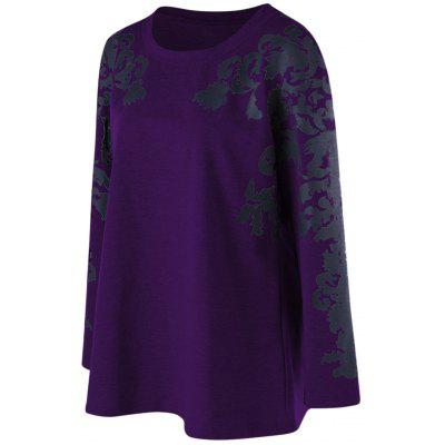 Print Plus Size Raglan Sleeve TopPlus Size Tops<br>Print Plus Size Raglan Sleeve Top<br><br>Collar: Round Neck<br>Material: Cotton Blends, Polyester, Spandex<br>Package Contents: 1 x Top<br>Pattern Type: Print<br>Season: Fall, Spring<br>Shirt Length: Regular<br>Sleeve Length: Full<br>Style: Casual<br>Weight: 0.3910kg