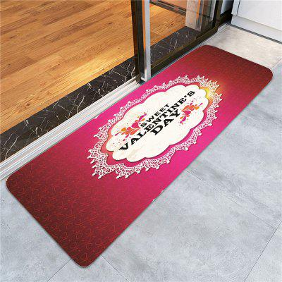 Valentines Day Letter Printed Skidproof RugCarpets &amp; Rugs<br>Valentines Day Letter Printed Skidproof Rug<br><br>Materials: Coral FLeece<br>Package Contents: 1 x Rug<br>Pattern: Letter<br>Products Type: Bath rugs<br>Shape: Rectangle<br>Style: Festival