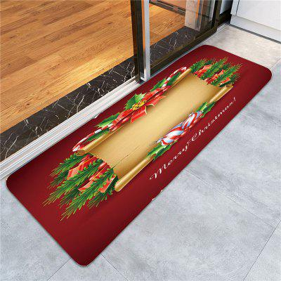 Christmas Paper Printed Skidproof RugCarpets &amp; Rugs<br>Christmas Paper Printed Skidproof Rug<br><br>Materials: Coral FLeece<br>Package Contents: 1 x Rug<br>Pattern: Print<br>Products Type: Bath rugs<br>Shape: Rectangle<br>Style: Festival