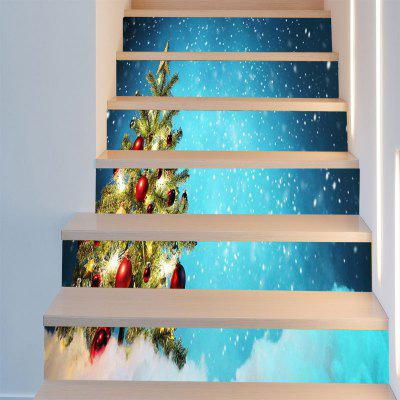 Snows Christmas Tree Pattern Decorative Stair StickersWall Stickers<br>Snows Christmas Tree Pattern Decorative Stair Stickers<br><br>Feature: Removable<br>Functions: Stair Stickers<br>Material: PVC<br>Package Contents: 1 x Stair Stickers (Set)<br>Pattern Type: Christmas Tree<br>Theme: Christmas<br>Wall Sticker Type: Plane Wall Stickers<br>Weight: 0.3100kg
