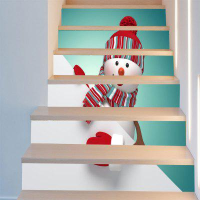 Red Hat Christmas Snowman Pattern Decorative Stair StickersWall Stickers<br>Red Hat Christmas Snowman Pattern Decorative Stair Stickers<br><br>Feature: Removable<br>Functions: Stair Stickers<br>Material: PVC<br>Package Contents: 1 x Stair Stickers (Set)<br>Pattern Type: Snowman<br>Theme: Christmas<br>Wall Sticker Type: Plane Wall Stickers<br>Weight: 0.3100kg