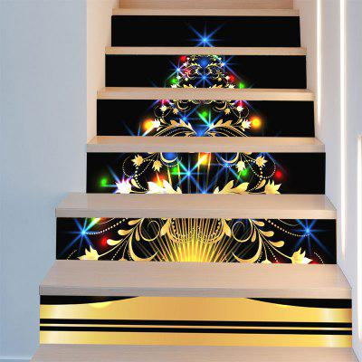 Colorful Christmas Tree Printed Decorative Stair StickersWall Stickers<br>Colorful Christmas Tree Printed Decorative Stair Stickers<br><br>Feature: Removable<br>Functions: Stair Stickers<br>Material: PVC<br>Package Contents: 1 x Stair Stickers (Set)<br>Pattern Type: Christmas Tree<br>Theme: Christmas<br>Wall Sticker Type: Plane Wall Stickers<br>Weight: 0.3100kg