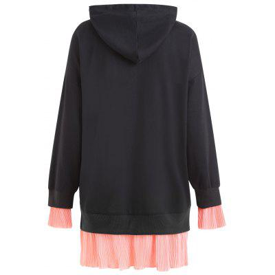 Plus Size Pleated Panel Kangaroo Pocket Tunic HoodiePlus Size Tops<br>Plus Size Pleated Panel Kangaroo Pocket Tunic Hoodie<br><br>Embellishment: Front Pocket,Panel<br>Material: Polyester<br>Package Contents: 1 x Hoodie<br>Pattern Style: Others<br>Season: Fall, Winter<br>Shirt Length: Long<br>Sleeve Length: Full<br>Style: Fashion<br>Weight: 0.4600kg