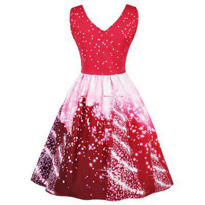 Vintage Starry Sky Print Christmas Skater DressWomens Dresses<br>Vintage Starry Sky Print Christmas Skater Dress<br><br>Dress Type: Fit and Flare Dress,Skater Dress<br>Dresses Length: Knee-Length<br>Material: Cotton, Polyester<br>Neckline: V-Neck<br>Package Contents: 1 x Dress<br>Pattern Type: Print<br>Season: Spring, Fall<br>Silhouette: A-Line<br>Sleeve Length: Sleeveless<br>Style: Vintage<br>Weight: 0.3700kg<br>With Belt: No