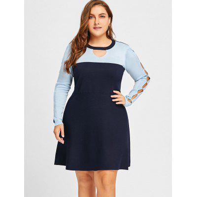 Plus Size Keyhole Cut Out KnitwearPlus Size<br>Plus Size Keyhole Cut Out Knitwear<br><br>Collar: Keyhole Neck<br>Material: Acrylic<br>Package Contents: 1 x Knitwear<br>Pattern Type: Others<br>Season: Winter, Spring, Fall<br>Sleeve Length: Full<br>Style: Casual<br>Type: Pullovers<br>Weight: 0.6150kg