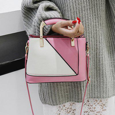 Color Block Geometric Handbag With PendantHandbags<br>Color Block Geometric Handbag With Pendant<br><br>Closure Type: Zipper<br>Gender: For Women<br>Handbag Size: Small(20-30cm)<br>Handbag Type: Totes<br>Main Material: PU<br>Occasion: Versatile<br>Package Contents: 1 x Handbag<br>Pattern Type: Patchwork<br>Style: Fashion<br>Weight: 0.7000kg