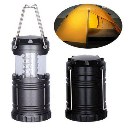 Outdoor Portable Retractable LED Camping Lantern Flashlight