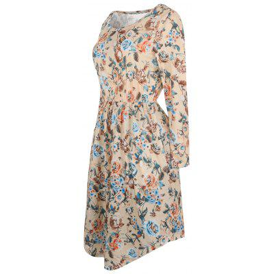 High Waist Floral Vintage DressWomens Dresses<br>High Waist Floral Vintage Dress<br><br>Dresses Length: Knee-Length<br>Material: Polyester, Spandex<br>Neckline: Round Collar<br>Package Contents: 1 x Dress<br>Pattern Type: Floral<br>Season: Spring, Fall<br>Silhouette: A-Line<br>Sleeve Length: Long Sleeves<br>Style: Vintage<br>Weight: 0.3700kg<br>With Belt: No