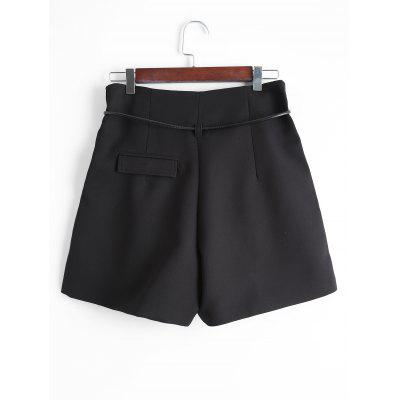 Wide Leg Back Faux Pocket ShortsShorts<br>Wide Leg Back Faux Pocket Shorts<br><br>Closure Type: Zipper Fly<br>Fit Type: Loose<br>Front Style: Flat<br>Material: Polyester<br>Package Contents: 1 x Shorts<br>Pattern Type: Solid<br>Style: Casual<br>Waist Type: Mid<br>Weight: 0.3000kg