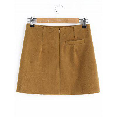 A Line Mini Wool Blend SkirtSkirts<br>A Line Mini Wool Blend Skirt<br><br>Length: Mini<br>Material: Polyester<br>Package Contents: 1 x Skirt<br>Pattern Type: Solid<br>Silhouette: A-Line<br>Weight: 0.4000kg