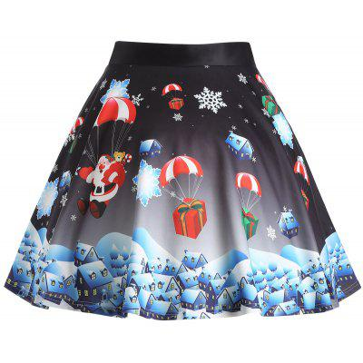 Christmas Gift Santa Claus Print Plus Size SkirtPlus Size<br>Christmas Gift Santa Claus Print Plus Size Skirt<br><br>Length: Knee-Length<br>Material: Polyester<br>Package Contents: 1 x Skirt<br>Pattern Type: Print<br>Season: Winter<br>Silhouette: A-Line<br>Weight: 0.3750kg<br>With Belt: No