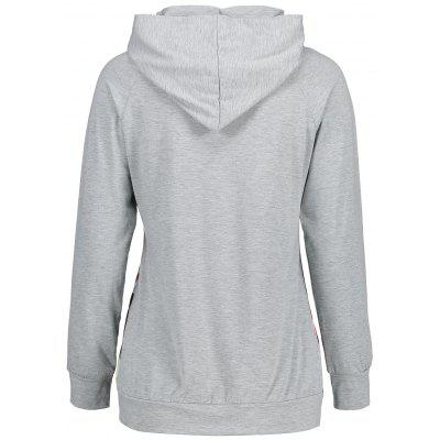 Floral Panel Raglan Sleeve Pullover HoodieSweatshirts &amp; Hoodies<br>Floral Panel Raglan Sleeve Pullover Hoodie<br><br>Material: Polyester<br>Package Contents: 1  Hoodie<br>Pattern Style: Floral<br>Season: Fall, Spring<br>Shirt Length: Regular<br>Sleeve Length: Full<br>Style: Casual<br>Weight: 0.2950kg