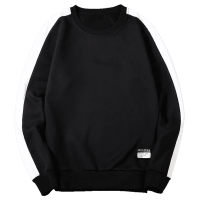 Two Tone Patch Design Mens SweatshirtMens Hoodies &amp; Sweatshirts<br>Two Tone Patch Design Mens Sweatshirt<br><br>Material: Polyester<br>Package Contents: 1 x Sweatshirt<br>Pattern Type: Color Block<br>Shirt Length: Regular<br>Sleeve Length: Full<br>Style: Fashion<br>Weight: 0.5100kg