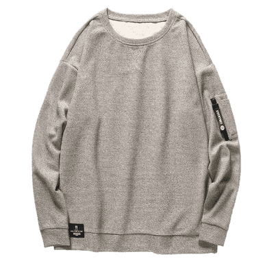 Heathered Mens Zipper Pocket SweatshirtMens Hoodies &amp; Sweatshirts<br>Heathered Mens Zipper Pocket Sweatshirt<br><br>Material: Polyester<br>Package Contents: 1 x Sweatshirt<br>Pattern Type: Others<br>Shirt Length: Regular<br>Sleeve Length: Full<br>Style: Fashion<br>Weight: 0.4900kg