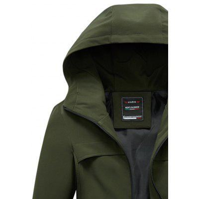 Slim Zip Front Hooded JacketMens Jackets &amp; Coats<br>Slim Zip Front Hooded Jacket<br><br>Closure Type: Zipper<br>Clothes Type: Jackets<br>Collar: Hooded<br>Material: Polyester<br>Occasion: Going Out, Daily Use, Casual<br>Package Contents: 1 x Jacket<br>Season: Fall<br>Shirt Length: Regular<br>Sleeve Length: Long Sleeves<br>Style: Casual<br>Weight: 0.6300kg