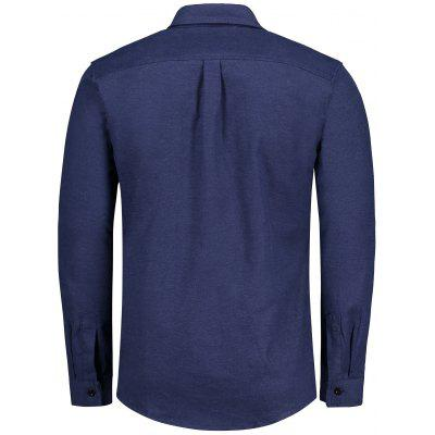 Patch Design Mens ShirtMens Shirts<br>Patch Design Mens Shirt<br><br>Collar: Turn-down Collar<br>Material: Polyester<br>Package Contents: 1 x Shirt<br>Shirts Type: Casual Shirts<br>Sleeve Length: Full<br>Weight: 0.5200kg