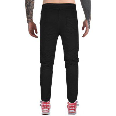 Drawstring Distressed Jogger PantsMens Pants<br>Drawstring Distressed Jogger Pants<br><br>Closure Type: Drawstring<br>Fit Type: Regular<br>Front Style: Flat<br>Material: Cotton, Polyester, Spandex<br>Package Contents: 1 x Jogger Pants<br>Pant Length: Long Pants<br>Pant Style: Jogger Pants<br>Style: Fashion<br>Waist Type: Mid<br>Weight: 0.5500kg<br>With Belt: No