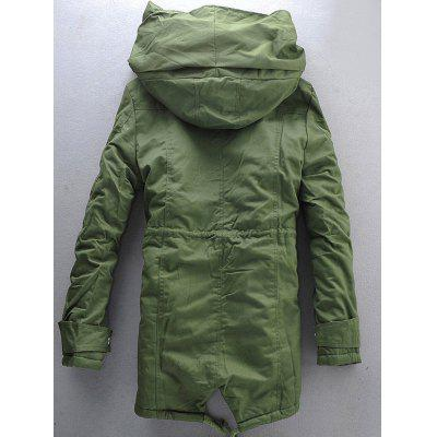 Hooded Double Zip Up Padded Parka CoatMens Jackets &amp; Coats<br>Hooded Double Zip Up Padded Parka Coat<br><br>Clothes Type: Parkas<br>Collar: Hooded<br>Material: Cotton, Spandex<br>Package Contents: 1 x Coat<br>Season: Winter<br>Shirt Length: Long<br>Sleeve Length: Long Sleeves<br>Style: Fashion<br>Weight: 1.3200kg