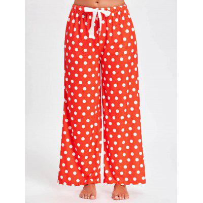 Polka Dot Wide Leg PJ Pants