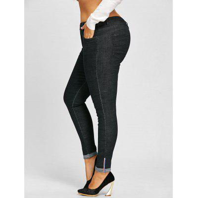 Plus Size Roll Up Leg Tall Jeans