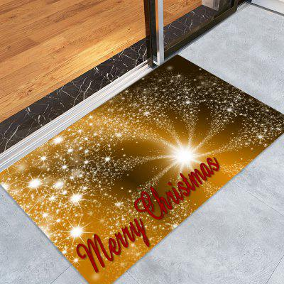 Christmas Firework Pattern Water Absorption Area Rug