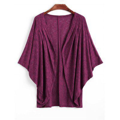 Coccon Cardigan with Batwing Sleeve