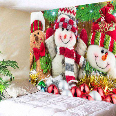 Three Christmas Snowman Dolls Pattern Wall TapestryBlankets&amp; Throws<br>Three Christmas Snowman Dolls Pattern Wall Tapestry<br><br>Feature: Removable<br>Material: Polyester<br>Package Contents: 1 x Tapestry<br>Shape/Pattern: Snowman<br>Style: Festival<br>Theme: Christmas<br>Weight: 0.4100kg