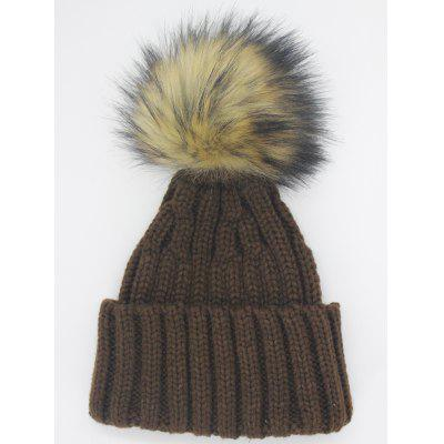 Outdoor Removable Fuzzy Ball Embellished Flanging Knit BeanieWomens Hats<br>Outdoor Removable Fuzzy Ball Embellished Flanging Knit Beanie<br><br>Gender: For Women<br>Group: Adult<br>Hat Type: Skullies Beanie<br>Material: Acrylic<br>Package Contents: 1 x Hat<br>Pattern Type: Others<br>Style: Fashion<br>Weight: 0.1000kg