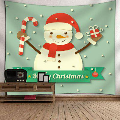 Waterproof Christmas Snowman Gift Printed Wall Art TapestryBlankets&amp; Throws<br>Waterproof Christmas Snowman Gift Printed Wall Art Tapestry<br><br>Feature: Removable, Washable, Waterproof<br>Material: Velvet<br>Package Contents: 1 x Tapestry<br>Shape/Pattern: Snowman<br>Style: Festival<br>Theme: Christmas<br>Weight: 0.3600kg