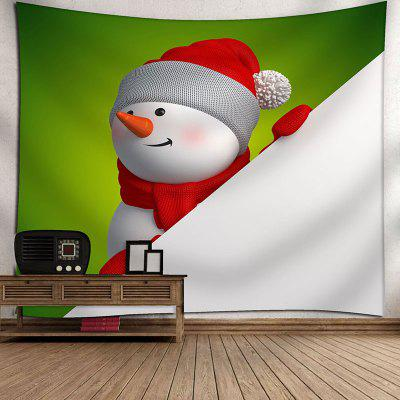 Waterproof Red Hat Christmas Snowman Printed Wall Decor TapestryBlankets&amp; Throws<br>Waterproof Red Hat Christmas Snowman Printed Wall Decor Tapestry<br><br>Material: Velvet<br>Package Contents: 1 x Tapestry<br>Shape/Pattern: Snowman<br>Style: Festival<br>Theme: Christmas<br>Weight: 0.3600kg