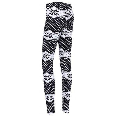 Snowflake Print Christmas Skinny LeggingsPants<br>Snowflake Print Christmas Skinny Leggings<br><br>Material: Polyester<br>Package Contents: 1 x Leggings<br>Pattern Type: Print<br>Style: Fashion<br>Waist Type: High<br>Weight: 0.2300kg
