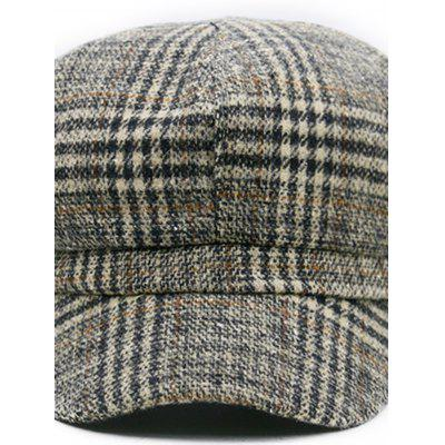 Vintage Houndstooth Pattern Embellished Newsboy HatWomens Hats<br>Vintage Houndstooth Pattern Embellished Newsboy Hat<br><br>Circumference (CM): 56-57CM<br>Gender: For Men<br>Group: Adult<br>Hat Type: Newsboy Caps<br>Material: Acrylic<br>Package Contents: 1 x Hat<br>Pattern Type: Others<br>Style: Fashion<br>Weight: 0.1200kg