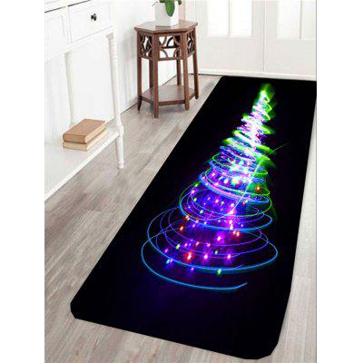 Christmas Lighting Tree Pattern Skidproof Rug