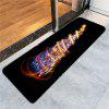 Colorful Lighting Christmas Tree Pattern Skidproof Rug - COLORFUL