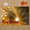 Christmas Firework Pattern Water Absorption Area Rug - GOLD BROWN