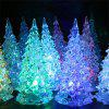 Colors Changing LED Lights Mini Christmas Tree - WHITE