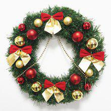 Home Decorations Bowknot Balls Christmas Wreath
